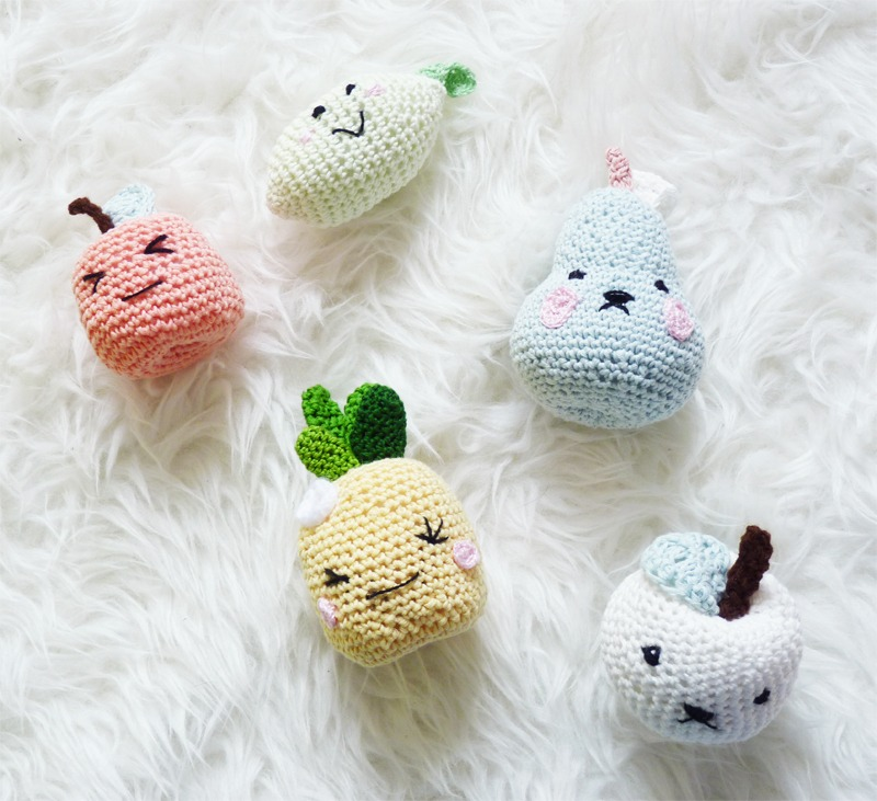 de ci de la diy fruit au crochet s