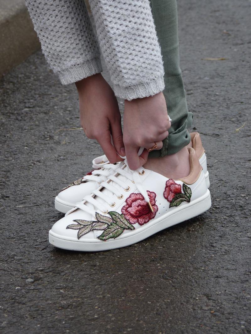 c241f53657a chaussure gucci fleur