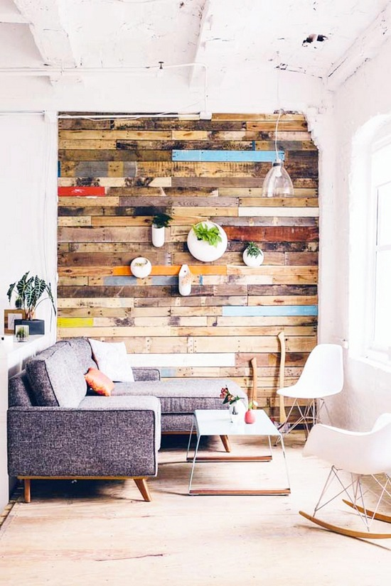 des id es pour une jolie d co murale black confetti. Black Bedroom Furniture Sets. Home Design Ideas