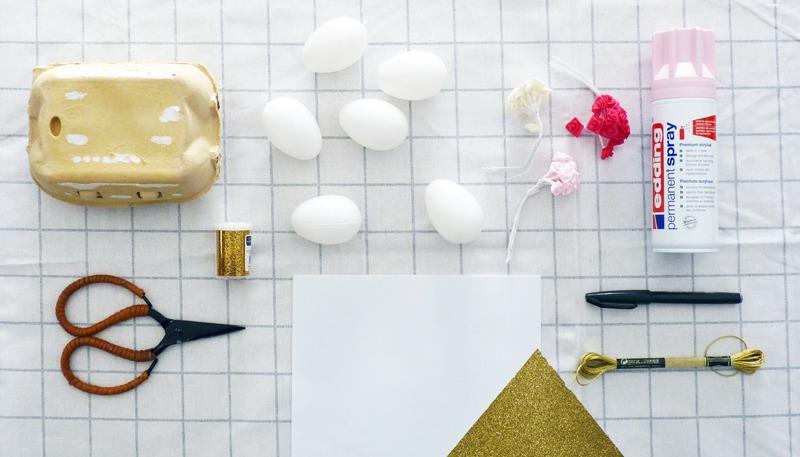 diy girly les oeufs de p ques licorne black confetti. Black Bedroom Furniture Sets. Home Design Ideas