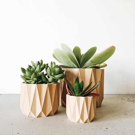 cache pot plantes etsy