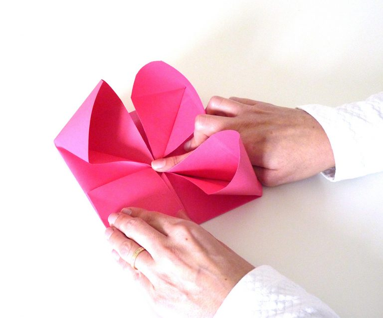 coeur origami photo10s