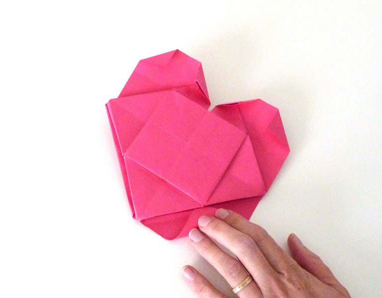 coeur origami photo30s