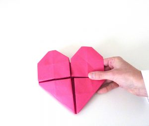 coeur origami photo31s