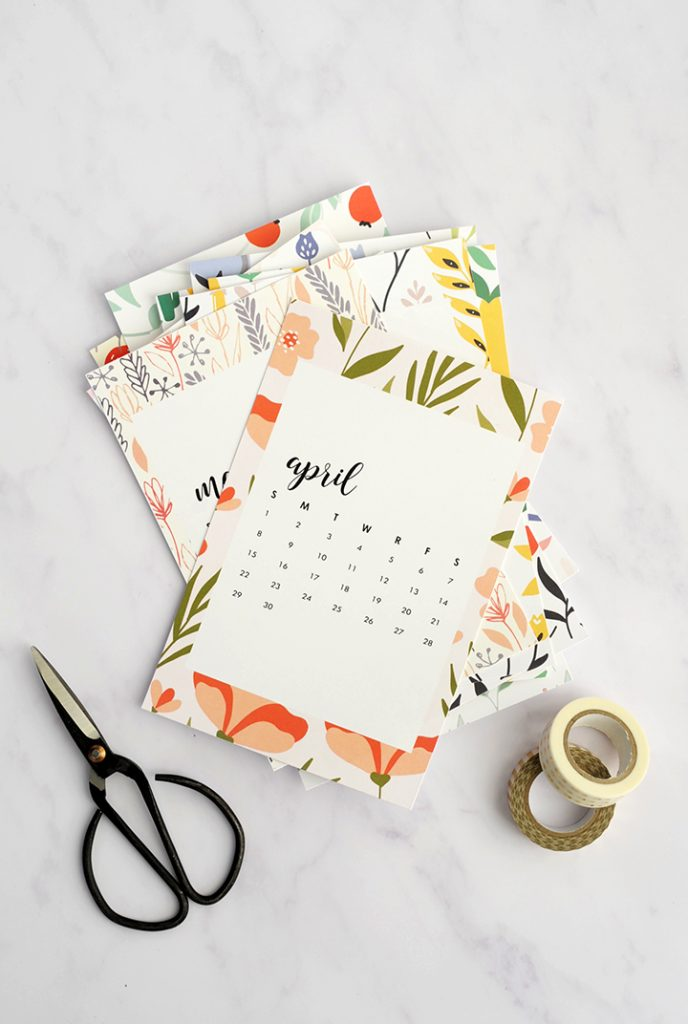free-printable-monthly-calendar-1