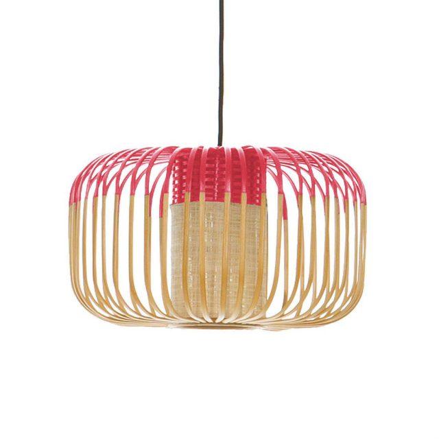 Luminaire-exterieur-Forestier-BAMBOO-Suspension-exterieur-Bambou-et-Rouge-H23cm-15389-963