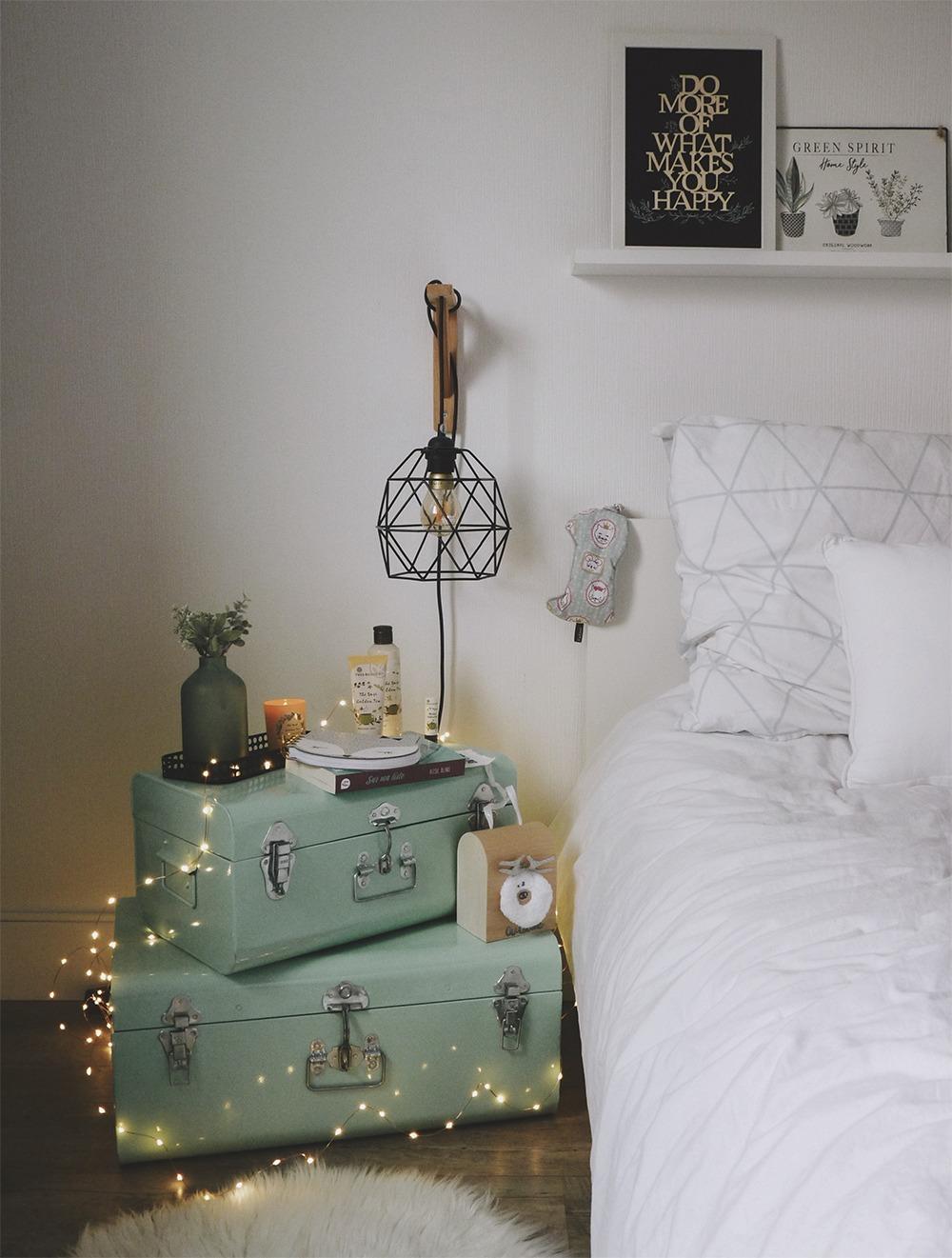 sur ma table de nuit black confetti. Black Bedroom Furniture Sets. Home Design Ideas