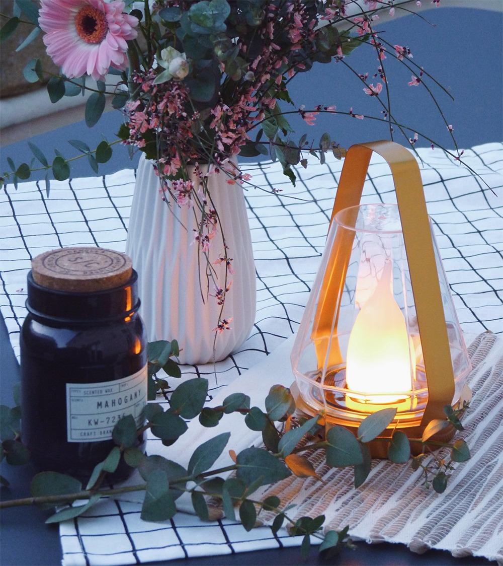 Mes jolies lampes de jardin solaires Nortene - Black Confetti